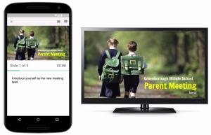 Prezentacja slajdów za pośrednictwem Google Chromecast